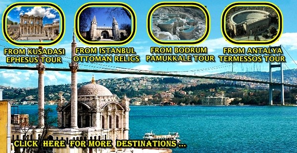 ATTRACTIONS TICKET AND TOUR IN TURKEY